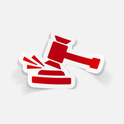 realistic-design-element-gavel-vector-id857892148