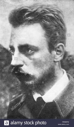 rilke-rainer-maria-4-12-1875-29-12-1926-autore-austriaco-scrittore-ritratto-circa-1900-additional-rights-clearance-info-not-available-rrm6pw